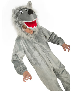 Wolf Boy Kostyme