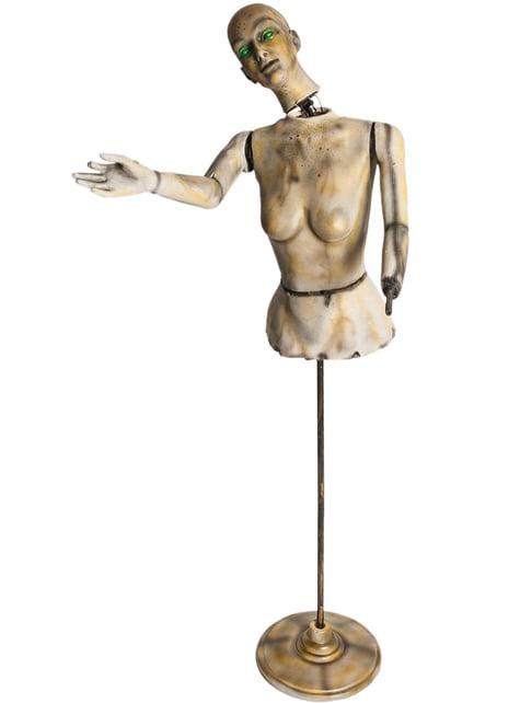 Animierte Mannequin Figur