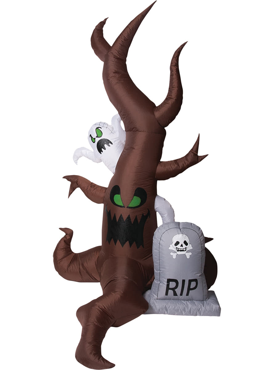 Scary cemetery inflatable figure. Buy on Funidelia at the best price!