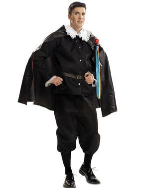 Pánský kostým středověký zpěvák