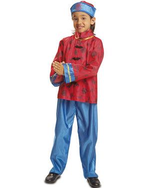 Costum de chinez imperial pentru băiat