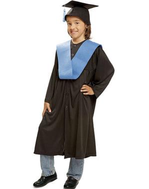 Fato de graduado para menino