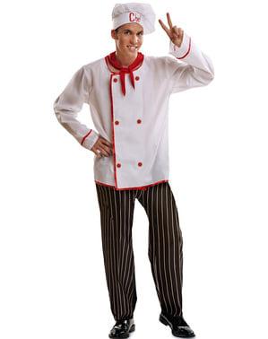 Costume da cuoco basic per uomo