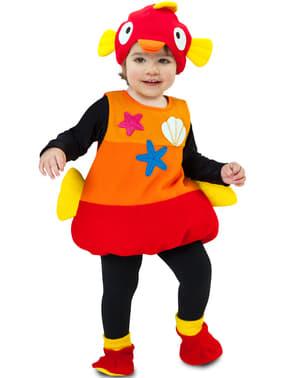 Costum de pește de apă sărată pentru copii