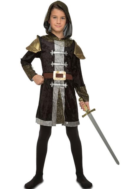 Disfraz de caballero del bosque para niño