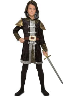 Fato de cavaleiro do bosque para menino