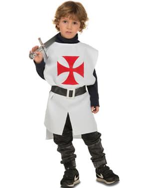 Біле середньовічне спорядження для дитини