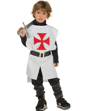 White Medieval Outfit for Kids