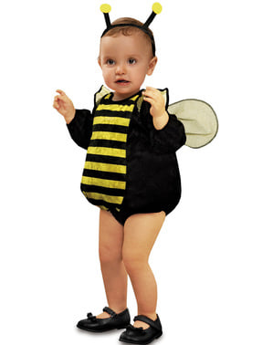 Costume da ape di peluche per neonato