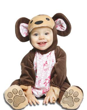 Fato de ursinho moderno para bebé