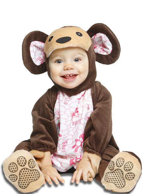 Disfraz de osito moderno para bebé - bebe