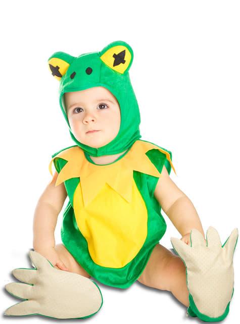 Disfraz de rana de la charca para bebé