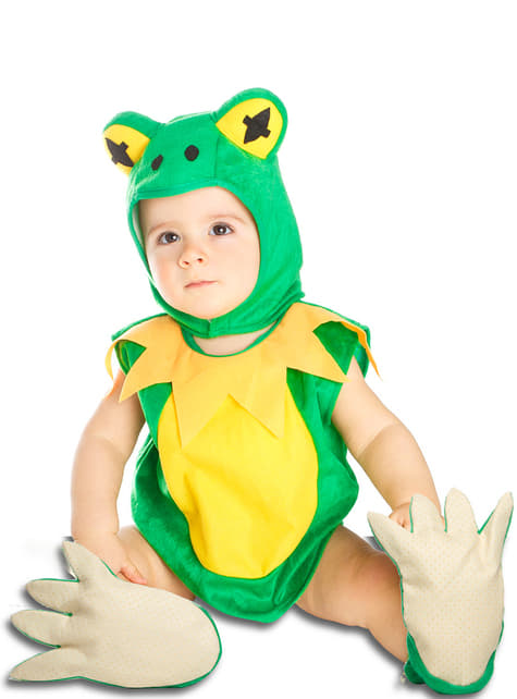 Frø kostume til babyer