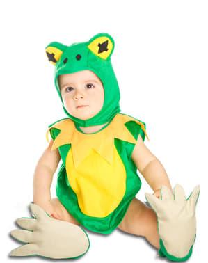 Costum broasca din baltă pentru bebeluși