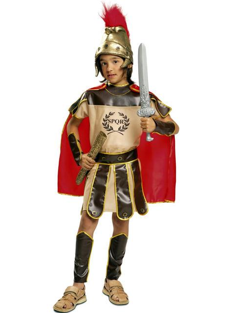 Fato de legionário romano para menino