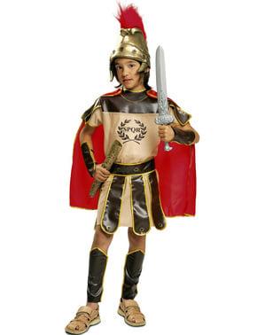 लड़के की रोमन सेना की पोशाक
