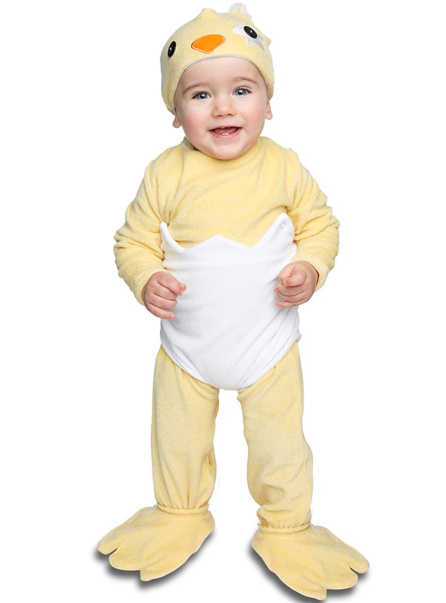 Disfraz de pollito en el cascar n para beb funidelia - Disfraz de navidad para bebes ...