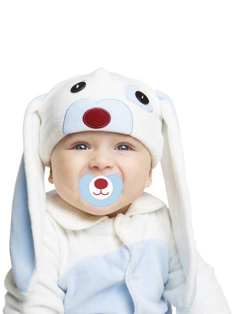 Disfraz de conejo azul orejón para bebé - bebe
