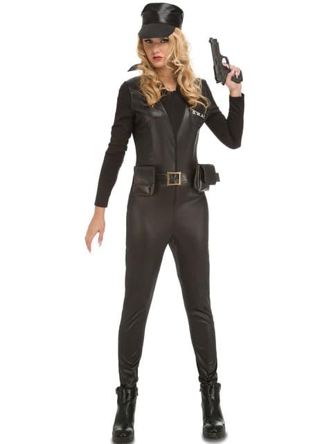 Women's SWAT Soldier Costume