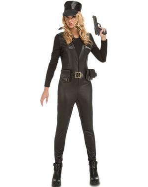 Déguisement soldat SWAT femme