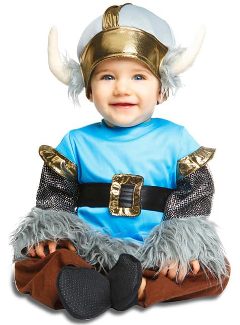 Fato de viking elegante para bebé