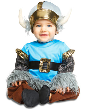 Disfraz de vikingo elegante para bebé