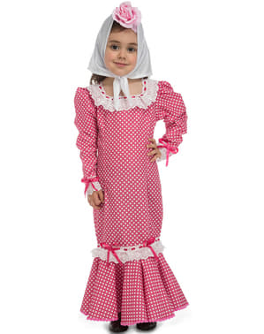Baby's Traditional Pink Madrid Dress