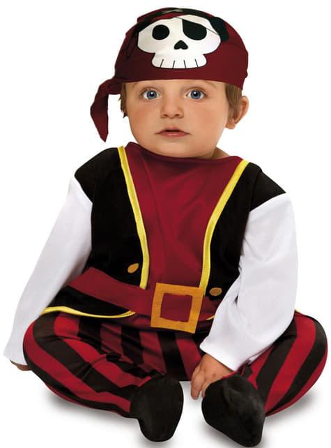 Kostium pirat z czaszką dla niemowląt