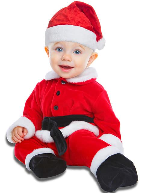 Strój Święty Mikołaj dla niemowląt