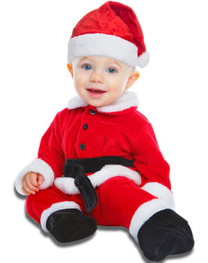 Kostium syn Mikołaja dla niemowląt
