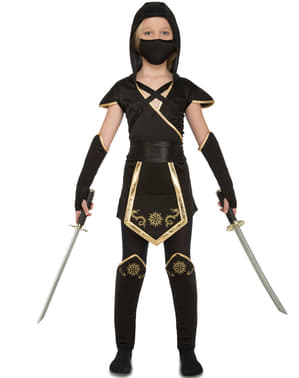 Déguisement ninja fille