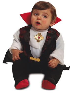 Fato de conde Drácula elegante para bebé