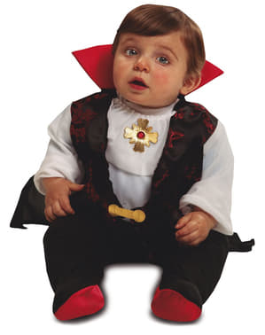 Graf Drakula Kostüm elegant für Babys
