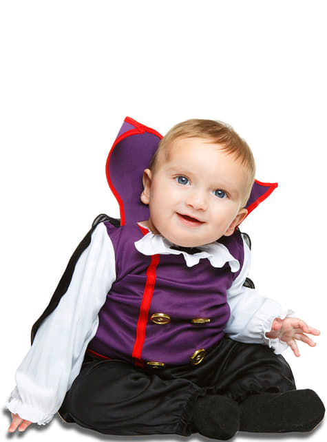 Baby's Purple Vampire Costume