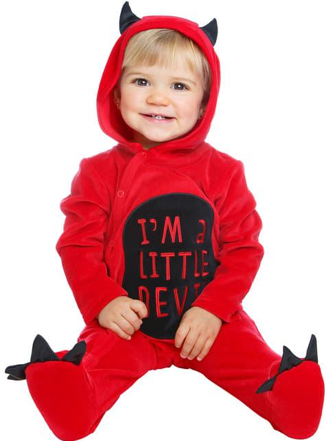 Fato de pequeno demónio para bebé