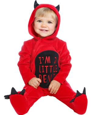 Maskeraddräkt liten demon för bebis