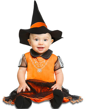 Baby's Witch Pumpkin Costume