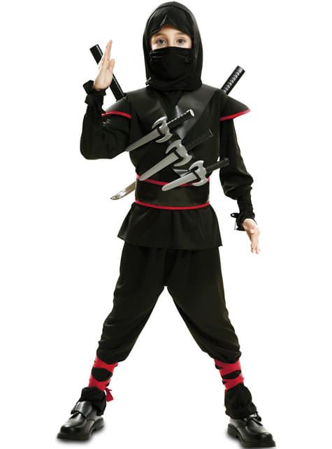 Disfraz de ninja para niño