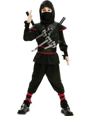 少年の忍者キラーコスチューム