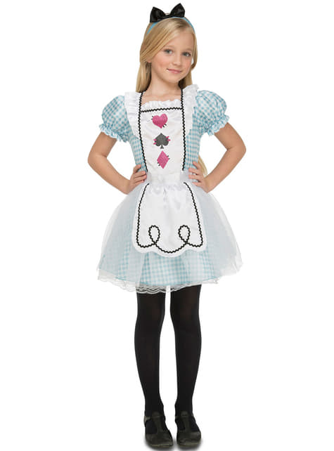 Girls Alice in wonder Costume
