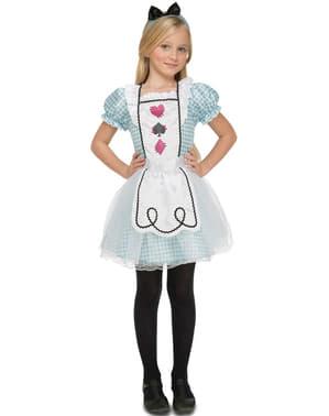 Fato de Alice na maravilha para menina