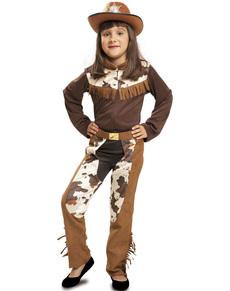 cc7b3a2dbe4b1 Disfraz de vaquera de rodeo para niña