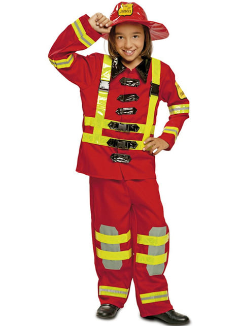 Disfraz de bombero para niño - infantil