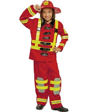 Disfraz de bombero infantil