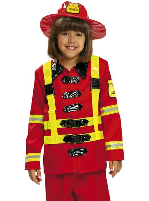 Disfraz de bombero para niño - original