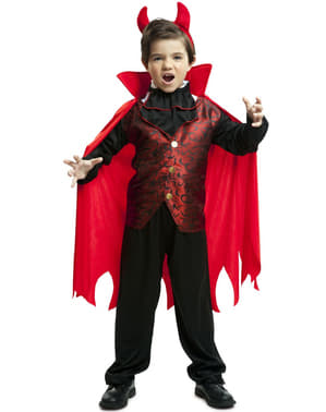 Maskeraddräkt greve Drakula elegant för barn