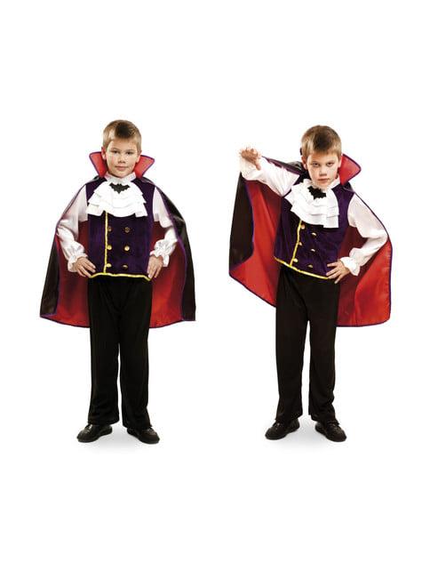 Disfraz de vampiro nocturno para niño