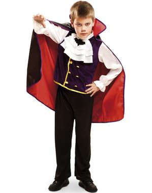 Vampire costume for kids