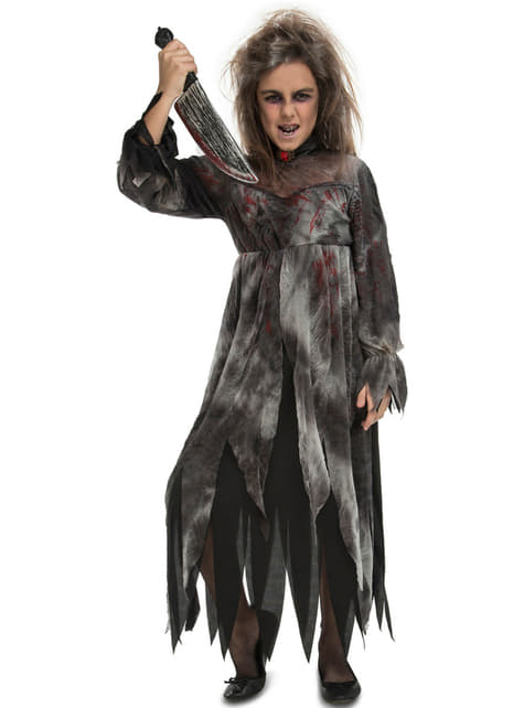 Girl's Disturbing Ghost Costume