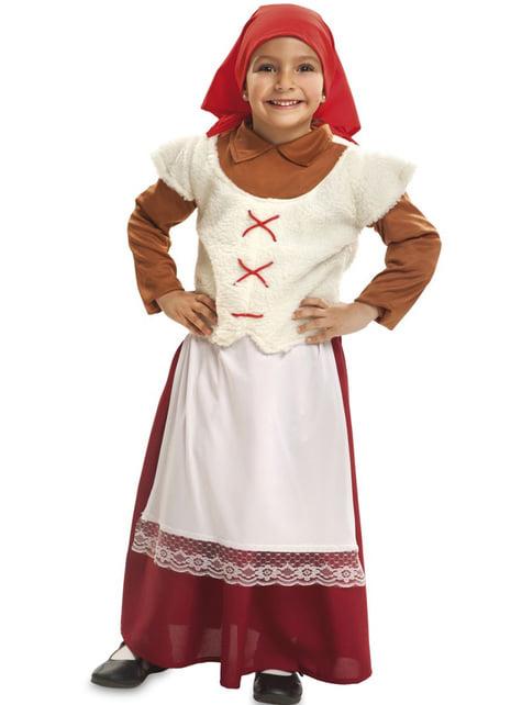 Girl's Little Shepherdress Costume